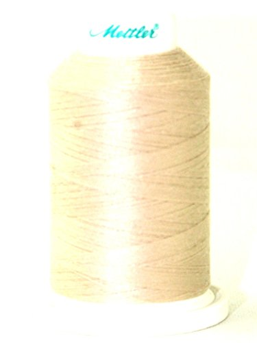 Mettler Seracor Polyester Overlock Sewing Thread 1000m 1000m 537 Oat Flakes - each ()