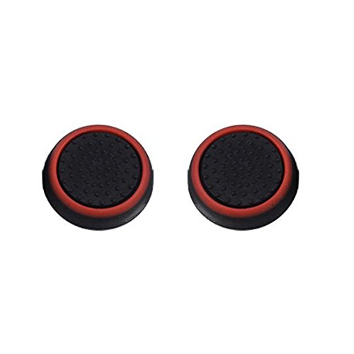 Price comparison product image Clearance !  Ninasill  Exclusive 1 Pairs Luminous Silicone Gel Thumb Grips Caps For Nintendo Switch Controller (A)
