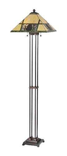 Meyda Pinecones - Meyda Tiffany 106488 Pinecone Ridge Floor Lamp, 63