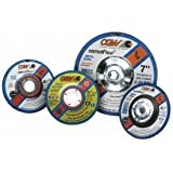 CGW Abrasives 35636 Depressed Center Wheel 7'' x 1/8'' x 7/8'' Type 27 24 Grit Silicon Carbide - Pkg Qty 25, (Sold in packages of 25)