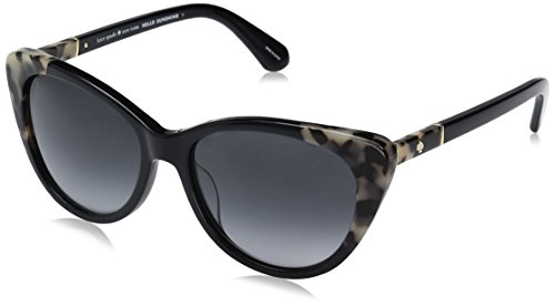 Kate Spade Women's Sherylyn/s Cateye Sunglasses, Black Havana/Dark Gray Gradient, 54 - Kate Cat Spade Eye Glasses