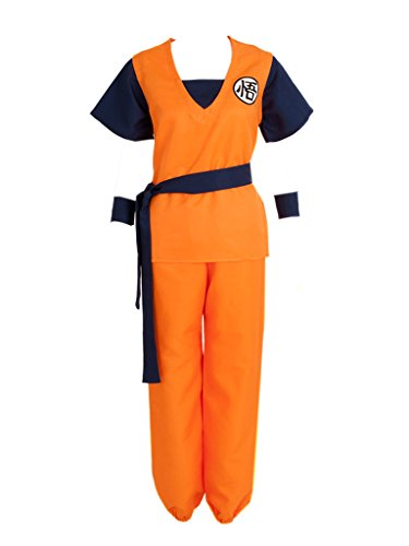 CosFantasy Unisex Cosplay Son Gohan/Son Goku Costume Mp002307