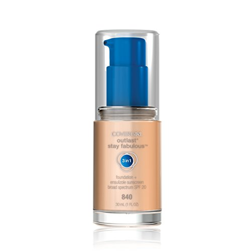 Covergirl Outlast Stay Fabulous 3-in-1 Foundation, Natural Beige 840