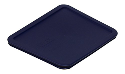 PYREX Blue 6-cup RECTANGULAR Plastic Cover 7211-PC (1 Pack)