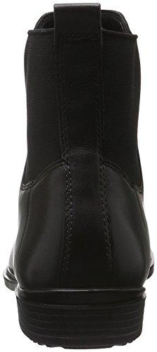 Ecco Womens Touch 15 Cheville Chelsea Boot Noir