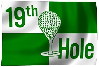 """product image for 19th Hole Flag, Nylon, Outdoor, Size: 12"""" x 18"""""""