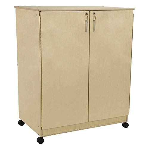 Enclosed Drawer - Contender Mobile Storage Cabinet with Enclosed Drawers - Assembled