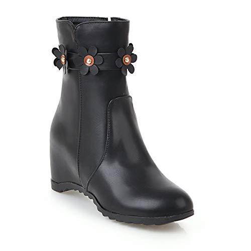 Stivaletti Arrotondata Boots Donna Women's Da Corti Con Black Punta Interna OZ7T5pq