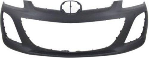 (Crash Parts Plus Primed Front Bumper Cover Replacement for 2010-2012 Mazda CX-7 )