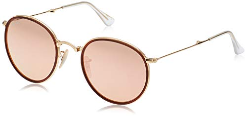 Ray-Ban Rb3517 Folding Metal Round Sunglasses