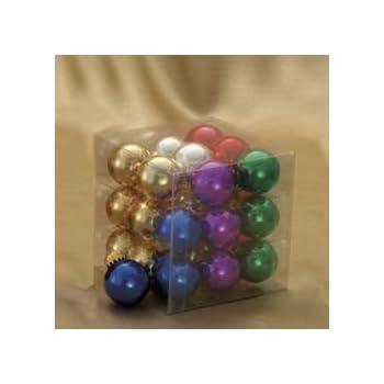 25 Mm Glass Multi Shiny Ball Christmas Ornaments - Amazon.com: 25 Mm Glass Multi Shiny Ball Christmas Ornaments: Home