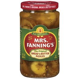 Mrs. Fanning's Bread and Butter Pickles 12 oz (Pack of 4)