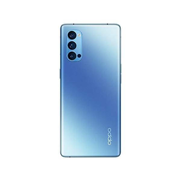 """OPPO Reno4 Pro Smartphone 5G, 172g, Display 6.5"""" FHD+ AMOLED, 3 Fotocamere 48MP, RAM 12GB + ROM 256GB non Espandibile, Batteria 4000mAh, Ricarica Super, Dual Sim, [Versione Italiana], Galactic Blue 3"""