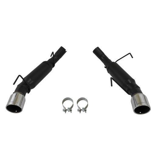 Mustang Flowmaster Exhaust (Flowmaster 817511 Axle-back System 409S - Dual Rear Exit - Outlaw - Aggressive Sound)