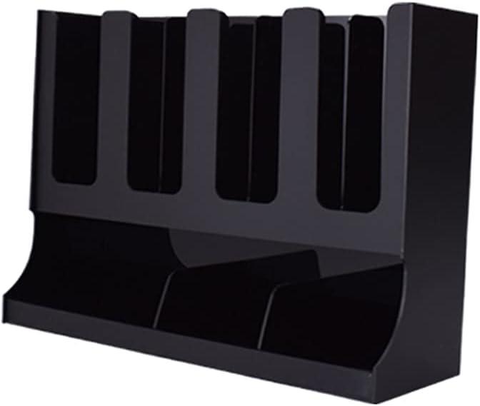 LOVIVER Breakroom Coffee Condiment Organizer Countertop Cup Dispenser Storage Holder, Durable