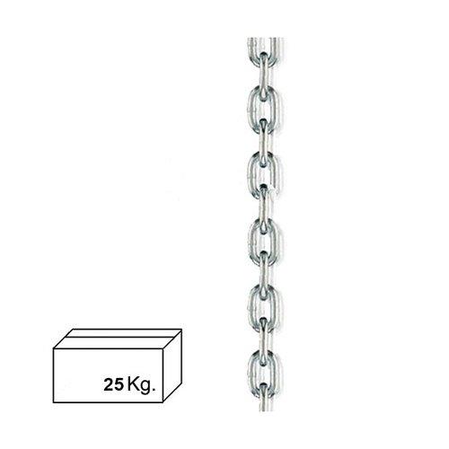 Wolfpack 1110025 Cadena zincada 12 mm caja de 25 kg