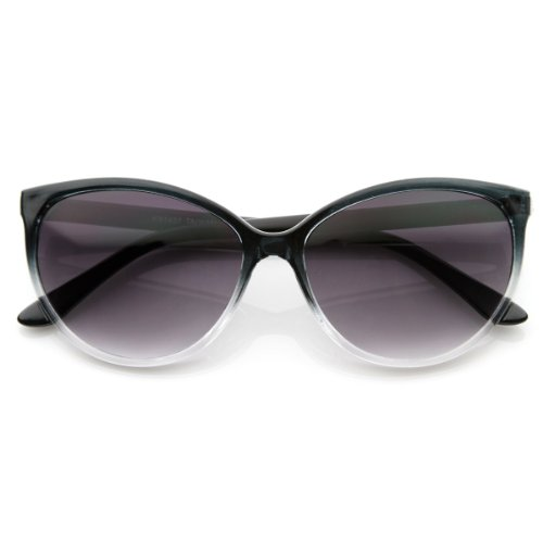 zeroUV - Translucent Fade Color Womens Fashion Cat Eye Sunglasses - Are Translucent Sunglasses
