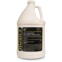 Canberra Husky 802 High Fragrance Lemon Detergent Disinfectant 1 Case/4 Gallons