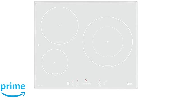 Teka IRS 631 WHITE - Placa (Integrado, Inducción, Vidrio y ...