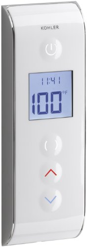 KOHLER K-527-0 DTV Prompt Digital Shower Interface, White -