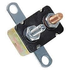 (Short Stop Circuit Breaker 15A Metal RT Bracket Type 1 12V (BP/CBC-15B-RP))