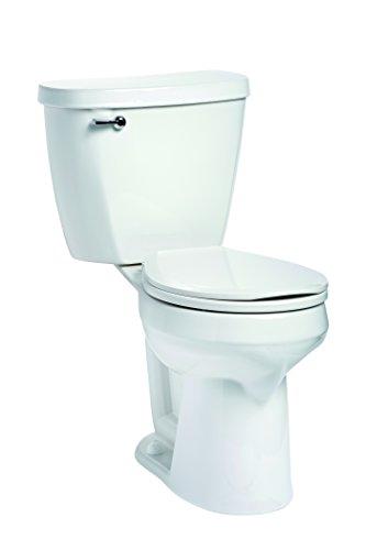 (Mansfield Plumbing 388.386.WHT Summit Round SmartHeight Toilet)