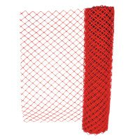 Safety Fences, 4 ft x 50 ft, Polyethelene, Orange