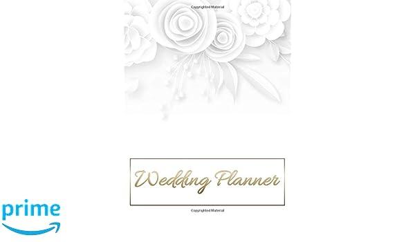 Wedding Planner Journal Organizer With Complete