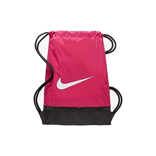 Nike Brasilia Drawstring Gym Bag (One Size) (Pink)