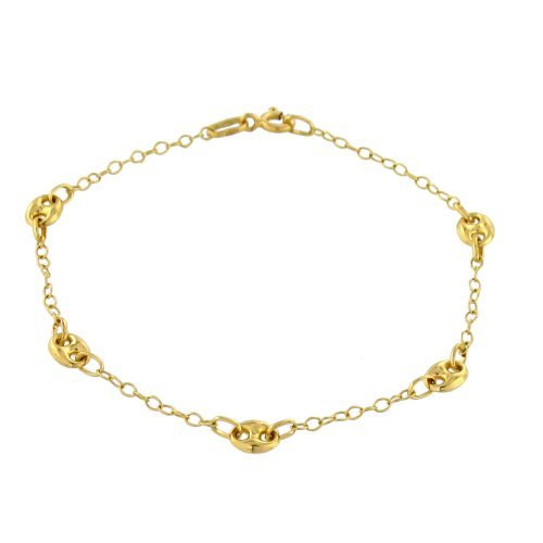 Tous mes bijoux - CDMC450 - Bracelet Femme - Or jaune 375/1000 2,1 gr - 18 cm