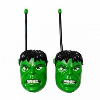 Kinder-Walkie-Talkies für Kinder in einer Auswahl von Kid Film Comic-Figuren Wireless Mini Twin Spielzeug Walkie Talkies (Hulk)