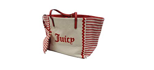 - Juicy Couture red stripped Tote Bag