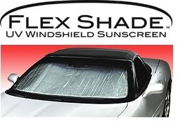 Covercraft UR11178 Flex Shade Custom Fit Windshield Shade for Select Dodge Charger Models - Radiant Barrier Material (Silver)