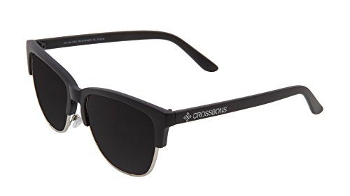 BOSTON 1016 Crossbons de PL Sol Gafas BLACK BBSL SMOKE LENS aUUqf7xw