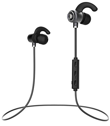 Price comparison product image Microsoft Lumia 532 Bluetooth Headset In-Ear Running Earbuds IPX4 Waterproof with Mic Stereo Earphones, CVC 6.0 Noise Cancellation, works with, Apple, Samsung,Google Pixel,LG
