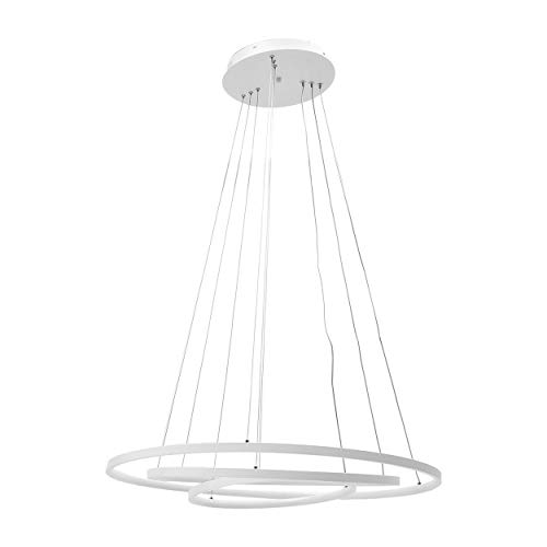 Pendant Light Elegance Three - Stylish 3 Rings LED Chandelier Contemporary Pendant Light Fashion Hanging Ceiling Lamp Light Fitting for Living Room
