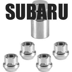 BMC Tuercas antirrobo para rueda de seguridad Subaru para Impreza, Legado, etc.: Amazon.es: Coche y moto
