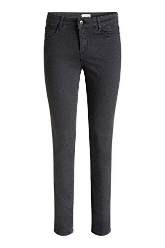 Esprit 076EE1B002, Pantalones para Mujer Gris (GUNMETAL 015)