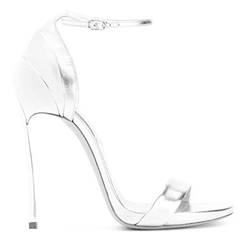 À Party La Femmes Girl's Buckle Tempérament High Mode Sandales Open Heels Silver Toe xwqqIS6