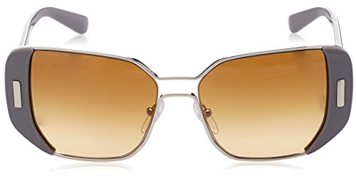PR 59SS Sonnenbrille Plateado Prada Brown Silver Grey AxZzO4q7w