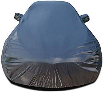 トヨタタンドラ、ヘビーデューティスクラッチ証拠耐久カーカバー、防水雨防塵自動車屋内屋外と互換性通気性の良いフルカーカバー、 (Color : Black)