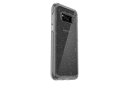 OtterBox SYMMETRY CLEAR SERIES for Samsung Galaxy S8 - Retail Packaging - STARDUST (SILVER FLAKE/CLEAR)