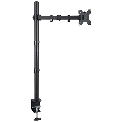 Ollieroo Monitor Desk Mount Stand Extra Tall Fully Adjustable Stand for 13 to 27 Monitor