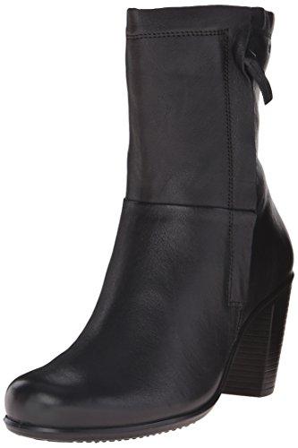 Ecco ECCO TOUCH 75B - Botas de cuero para mujer Negro (BLACK12001)