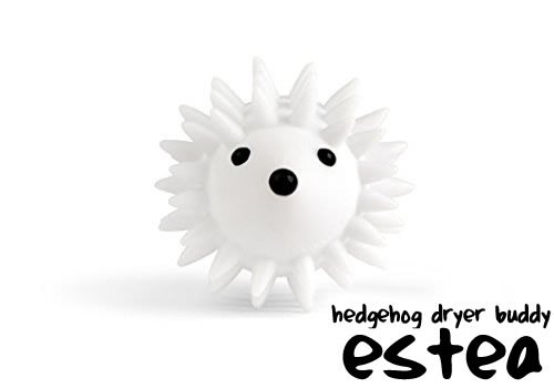 Anti-Static Laundry Dryer Ball Hedgehog from estea | Laundry