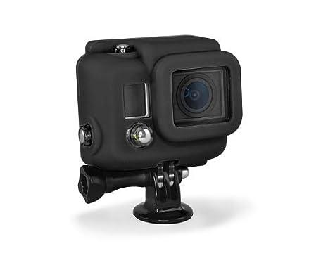 XSories Silicone Cover for GoPro Hero3 - Funda para videocámaras GoPro Hero3 (Silicona), Negro
