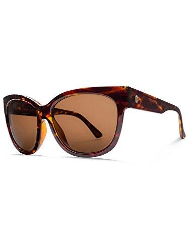Electric Eyewear Women's Danger Cat Polarized Gloss Tortoise/Ohm Bronze - Logo Sunglasses Electric