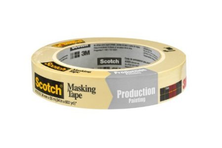 Scotch Masking Tape for Production Painting, 0.94Inch by 60.