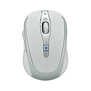 Gear Head Blue Tooth Laser Mouse for Mac Book, White with