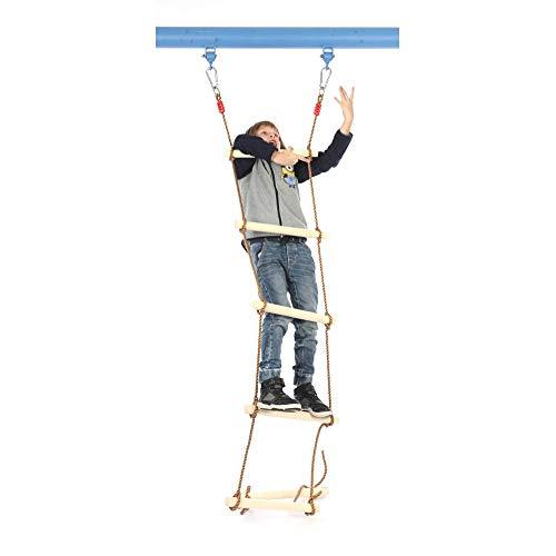 GYZ Climbing Ladder Wooden Children Climbing Ladder/Swing/Outdoor Sports Toys Amusement Equipment-1.8M Outdoor Toys by GYZ (Image #3)